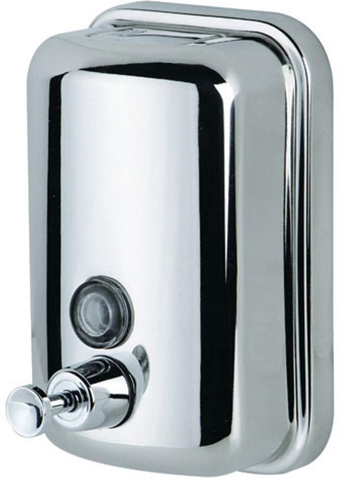 Диспенсер для жидкого мыла Vanstore Овал, настенный, 800 мл901-50Настенный диспенсер для жидкого мыла Vanstore Овал изготовлен извысококачественной стали. Надежен и удобен в использовании. Крепится спомощью шурупов (в комплекте).Подходит как для домашнего, так и для профессионального использования.
