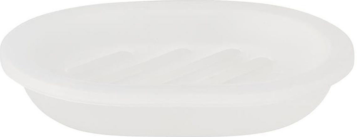 """Оригинальная мыльница Vanstore """"Summer White"""",  изготовленная из пластика, отлично подойдет для вашей  ванной комнаты.  Изделие отлично сочетается с другими аксессуарами из  коллекции """"Summer White"""". Такая мыльница создаст особую атмосферу уюта и  максимального комфорта в ванной."""