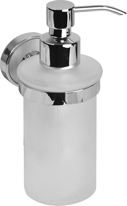 """Дозатор для жидкого мыла Iddis """"Calipso"""" отлично подойдет для вашей ванной комнаты.Такой аксессуар очень удобен в использовании,достаточно лишь перелить жидкое мыло вдозатор, а когда необходимо использованиемыла, легким нажатием выдавить нужноеколичество."""