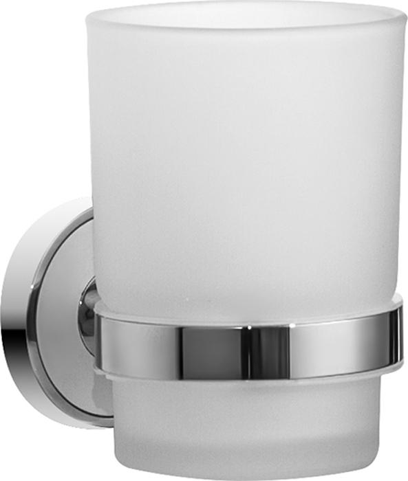 Стакан для зубных щеток Iddis Calipso, цвет: хромCALMBG1i45Стакан для зубных щеток Iddis Calipso изготовлен из латуни и матового стекла белого цвета. Изделие превосходно дополнит интерьер ванной комнаты.Размеры стакана: Диаметр по горлышку: 6,9 см; Высота: 9,6 см.