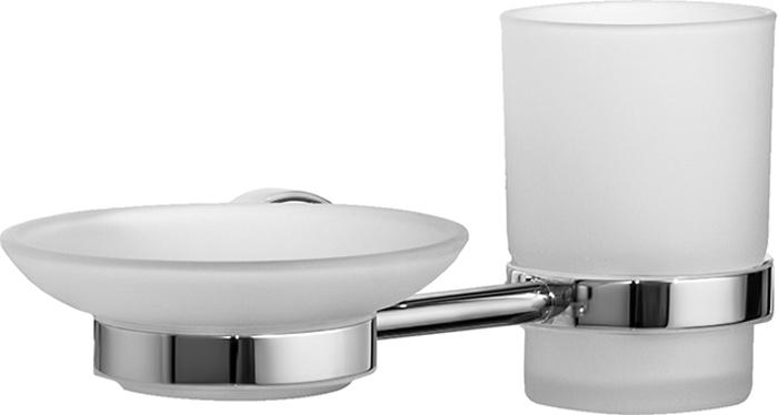 Набор аксессуаров для ванной комнаты Iddis Calipso, цвет: хром
