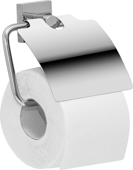 Держатель для туалетной бумаги Iddis Edifice, с крышкой, цвет: хром держатель туалетной бумаги keuco elegance с крышкой 11660010000