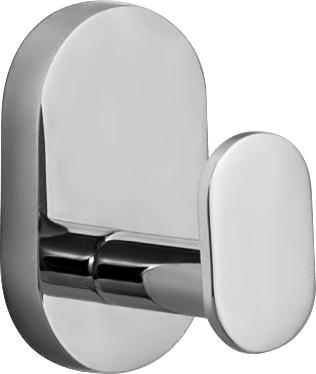 """Двойной крючок Iddis """"Mirro Plus"""" предназначен для  подвешивания полотенец, халата и многого другого в  ванной комнате. Он выполнен из латуни.  Хромированное покрытие придает изделию яркий  металлический блеск и эстетичный внешний вид. Крепление входит в комплект."""