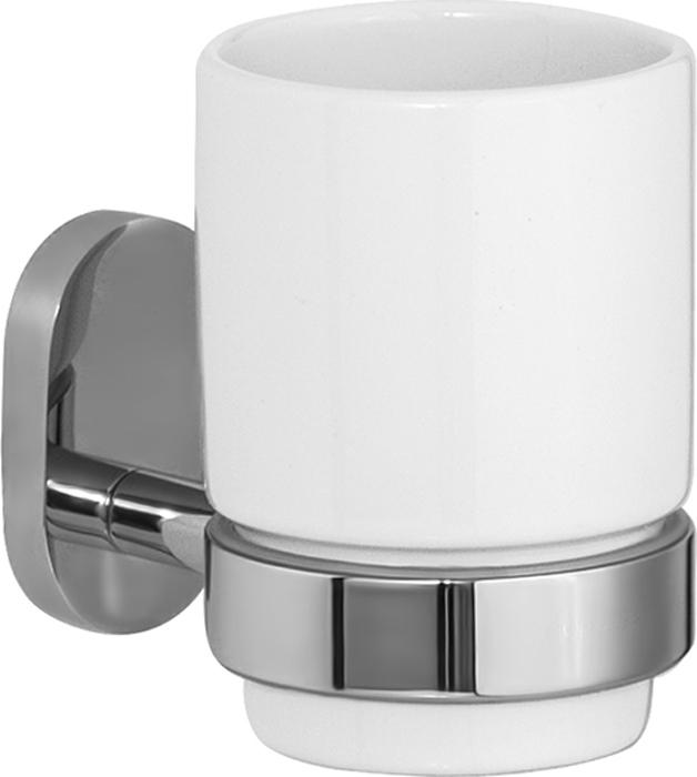 Стакан для зубных щеток Iddis Mirro Plus, цвет: хромMRPSBC1i45Стакан для зубных щеток Iddis Mirro Plus изготовлен из латуни и матового стеклабелого цвета. Изделие превосходно дополнитинтерьер ванной комнаты.