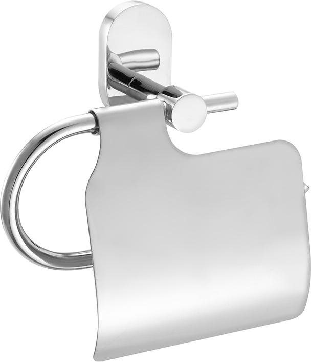 Держатель для туалетной бумаги Iddis Mirro Plus, с крышкой, цвет: хромMRPSBC0i43Держатель Iddis Mirro Plus выполнен из высококачественной латуни. Изделие предназначено для удерживания туалетной бумаги. Оно крепится к стене с помощью шурупов. Держатель имеет оригинальный дизайн.
