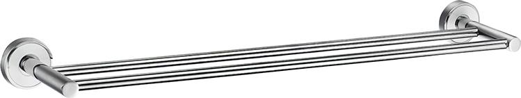 Держатель для полотенец Iddis Calipso, двойной, цвет: хромCALSB20i49Держатель для полотенец Iddis Calipso выполнен из высококачественной латуни и крепится к стене при помощи шурупов (входят в комплект). Хромовое покрытие придает изделию яркий металлическийблеск и эстетичный внешний вид.