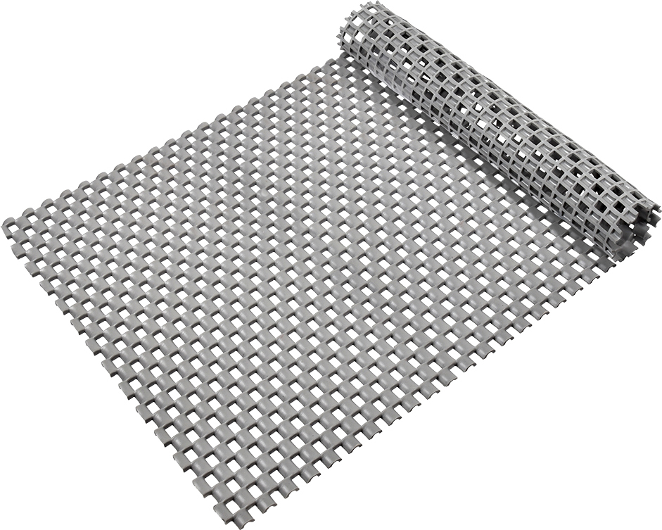 Коврик-дорожка Vortex Шашки, противоскользящий, цвет: серый, 0,9 х 10 м коврик дорожка vortex disco основа латекс