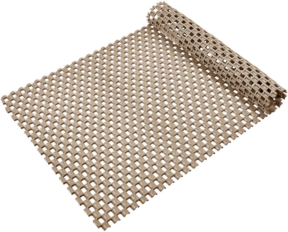 Коврик-дорожка Vortex Шашки, противоскользящий, цвет: бежевый, 90 см х 1000 см24072Коврик-дорожка из ПВХ повышенной твердости и износоустойчивости препятствует скольжению, эффективно защищает помещение от влаги и грязи. Легко укладывается на поверхность любой формы и площади. Легко чистится и моется. Подходит для использования в быту и в помещениях с высокой проходимостью.