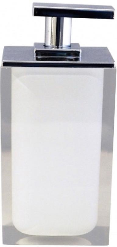"""Дозатор для жидкого мыла Ridder """"Colours"""", изготовленный из экологичной полирезины, отлично подойдет для вашей ванной комнаты. Такой аксессуар очень удобен в использовании, достаточно лишь перелить жидкое мыло в дозатор, а когда необходимо использование мыла, легким нажатием выдавить нужное количество.  Дозатор для жидкого мыла Ridder """"Colours"""" создаст особую атмосферу уюта и максимального комфорта в ванной. Объем дозатора: 300 мл."""