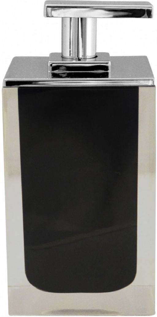 Дозатор для жидкого мыла Ridder Colours, цвет: черный, 300 мл