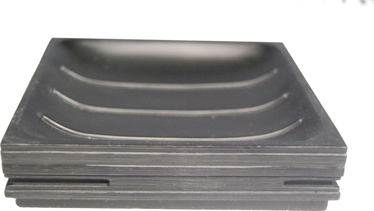 Мыльница Ridder Brick, цвет: черный22150310Мыльница Ridder Brick - высококачественные немецкий аксессуардля ванной комнаты.Изделия серии Brick устойчивы к ультрафиолету, изготавливаются из добротной полирезины.Экологичная полирезина - это твердый многокомпонентный материал на основе синтетической смолы, с добавлением каменной крошки и красящих пигментов.Размер: 125 х 125 мм.