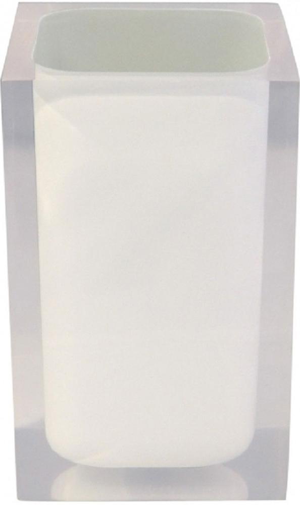Стакан для ванной комнаты Ridder Colours, цвет: белый22280101Изделия данной серии устойчивы к ультрафиолету, т.к. изготавливаются изполирезина.Экологичный полирезин - это твердый многокомпонентный материал на основесинтетической смолы, с добавлением каменной крошки и красящих пигментов.