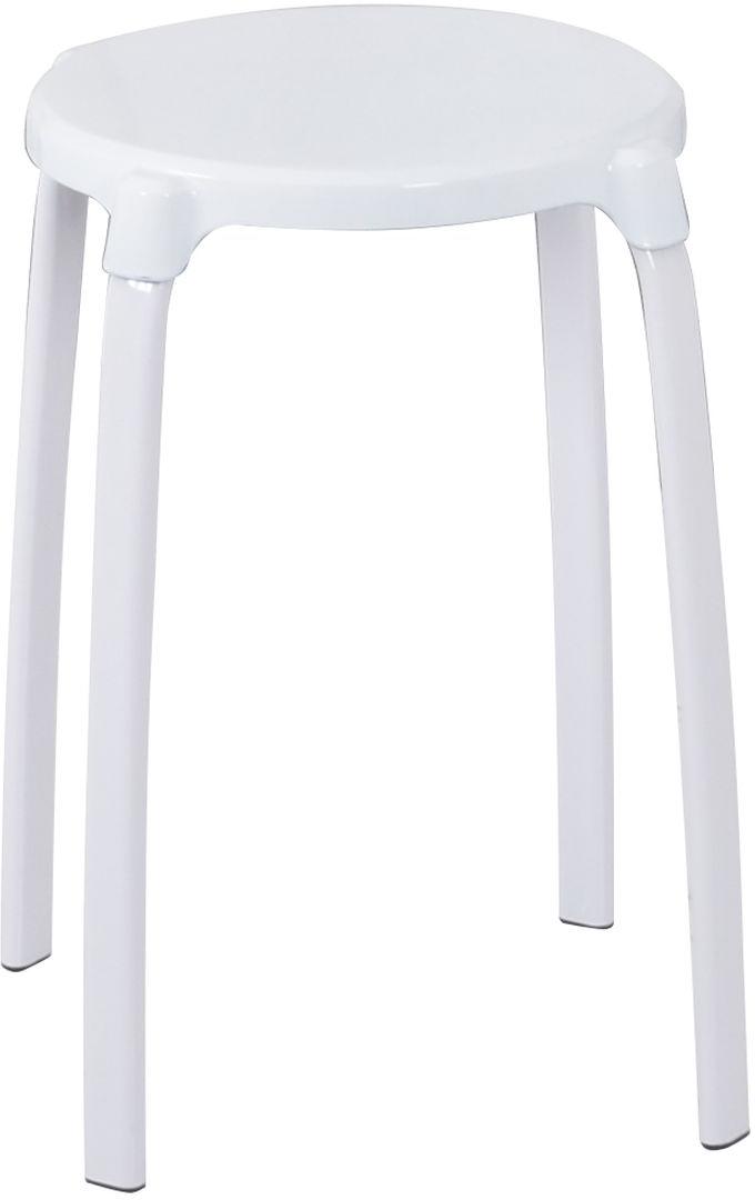 Табурет в ванную Ridder Promo, круглый, цвет: белыйА1050101Высококачественный немецкий табурет для ванны разработан и запатентован компанией Ridder. Ножки - металл. Сидение - рифленый пластик. На ножках резиновые накладки для минимизации скольжения. Сидение и ножки скрепляются шурупами.