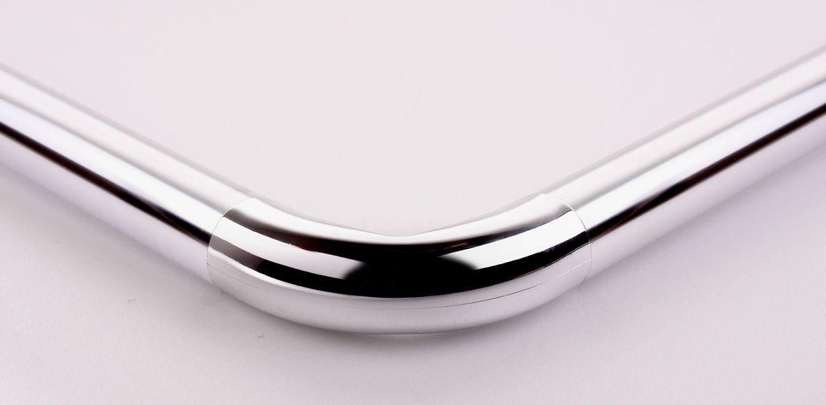 """Штанга для ванной комнаты """"Ridder"""" - это не только аксессуар для штор, но и элемент декора. Изделие выполнено из спрессованного алюминия, на который нанесено специальное покрытие для предотвращения царапин. Имеет три варианта сборки.  Оригинальная и стильная штанга дополнит интерьер вашей ванной комнаты.   В комплект входит:     - штанга - 3 части  - угловой соединитель - 2 шт  - крепление к стене - 2 шт     - саморез+дюбель - 6 шт     Установка данной штанги требует сверления.     Максимальный размер: 170 х 90 см."""