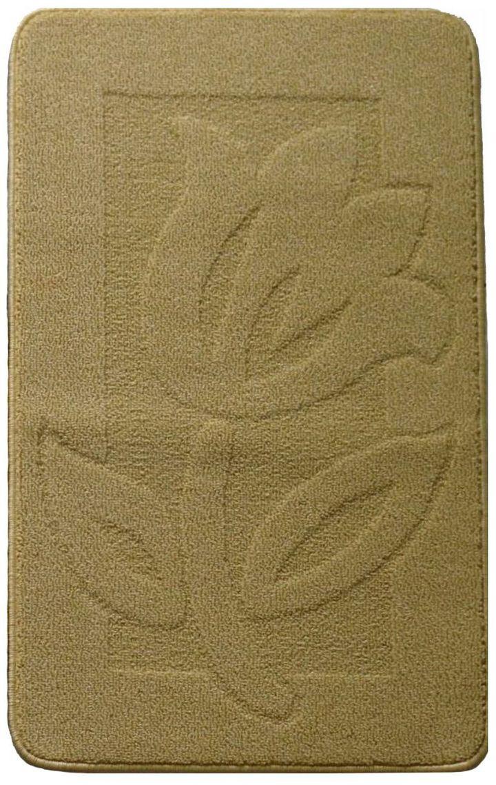 Коврик для ванной Kamalak Tekstil, цвет: коричневый, 60 x 100 см. УКВ-1010УКВ-1010Ковер Kamalak Tekstil изготовлен из полипропилена. Полипропилен износостоек, нетоксичен, не впитывает влагу, не провоцирует аллергию. Структура волокна в полипропиленовых коврах гладкая, поэтому грязь не будет въедаться и скапливаться на ворсе. Практичный и износоустойчивый ворс не истирается и не накапливает статическое электричество. Ковер обладает хорошими показателями теплостойкости и шумоизоляции. За счет невысокого ворса ковер легко чистить. При надлежащем уходе синтетический ковер прослужит долго, не утратив ни яркости узора, ни блеска ворса, ни упругости. Самый простой способ избавить изделие от грязи - пропылесосить его с обеих сторон (лицевой и изнаночной). Влажная уборка с применением шампуней и моющих средств не противопоказана. Хранить рекомендуется в свернутом рулоном виде.