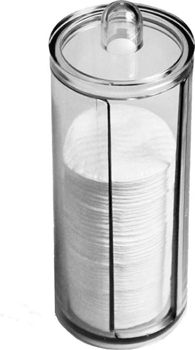 """Диспенсер для ватных дисков """"Beauty Logic"""" обеспечивает комплексный эффект: сохраняет чистоту материала; делает процесс хранения ватных дисков максимально удобным.  Размер: 19 х 7,5 см."""