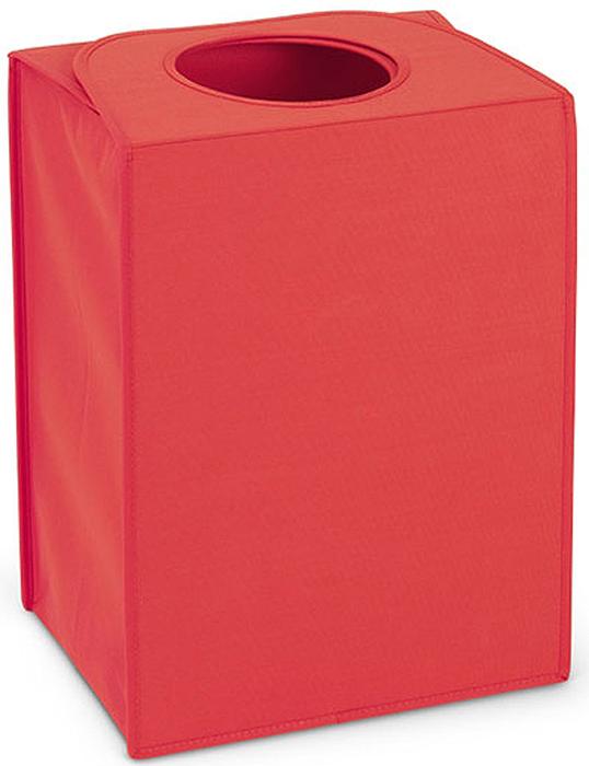Сумка для белья Brabantia, прямоугольная, цвет: красный, 55 л. 104220104220Большая вместимость – 55 литров. Удобно закладывать и доставать белье – широкое открытие. Отверстие для быстрой загрузки белья – просто сложите магнитные ручки. Практичная – большие удобные ручки для переноски. Экономия места – складывается для хранения.