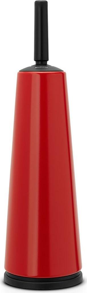 Ершик туалетный Brabantia Classic, с держателем, цвет: красный. 107849107849Устойчивость к коррозии – идеальное решение для ванной или туалетной комнаты. Ершик эстетично спрятан в подставке. Прост в очистке. Изготовленная из пластика щетка легко чистится и имеет длительный срок службы. Превосходно сочетается держателем для туалетной бумаги, мусорными баками и другими изделиями Brabantia.