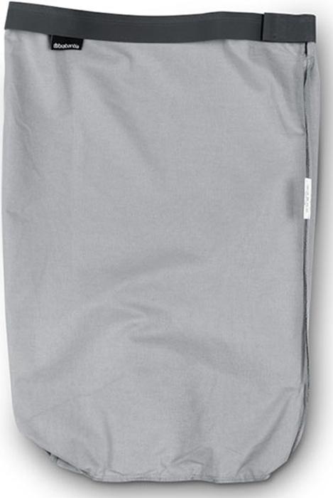 Мешок для бака для белья Brabantia, цвет: серый, 35 л. 102325 brabantia мусорный бак flipbin 30 л белый