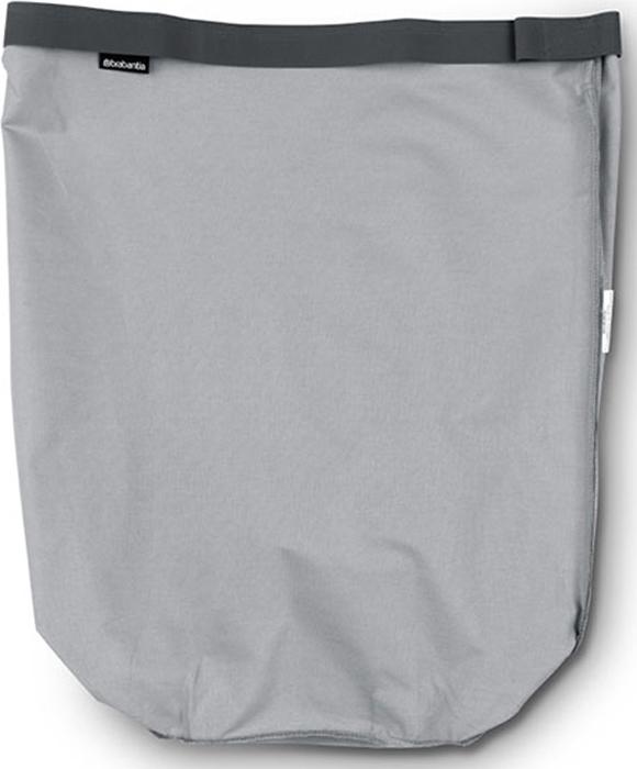 Мешок для бака для белья Brabantia, цвет: серый, 60 л. 102363102363Сменный мешок подойдет для бака для белья Brabantia объемом 50-60 л.Изготовлен из прочной ткани (100% хлопок) и легко стирается.Легко устанавливается и не соскальзывает в бак – эластичные прорезиненныекрая и липучка.