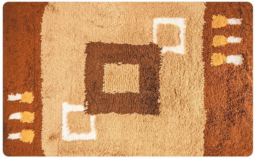 """Коврик для ванной Iddis """"Corfu"""", цвет: коричневый, 50 х 80 см"""