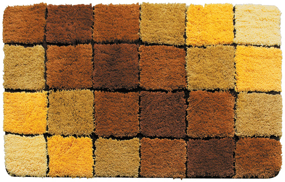 Коврик для ванной Iddis Tender scotch brown, цвет: бежевый, 70 х 120 см babyono коврик противоскользящий для ванной цвет голубой 70 х 35 см