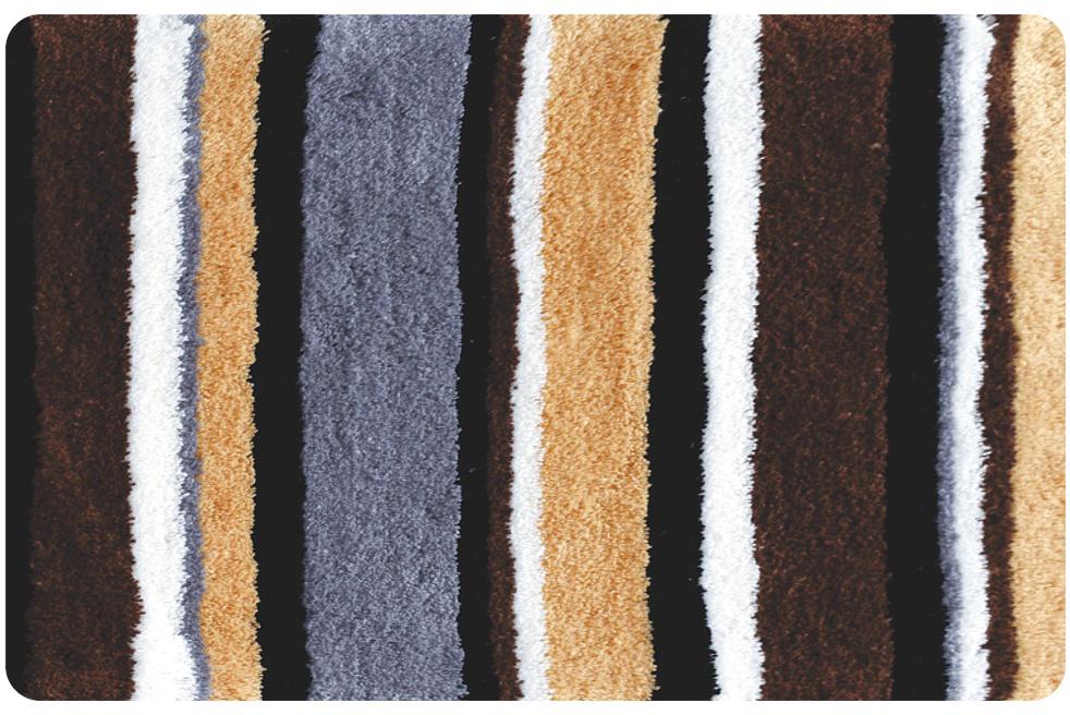Коврик для ванной Iddis Catalonia fields, цвет: коричневый, 50 х 80 см коврик iddis 402a580i12