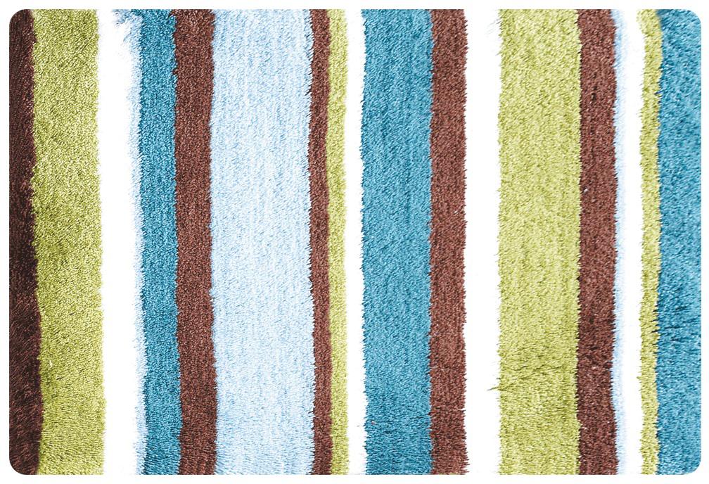 100% Полиэстеровый тканный коврик для ванной комнаты на латексной основе. Высота ворса 2.5см