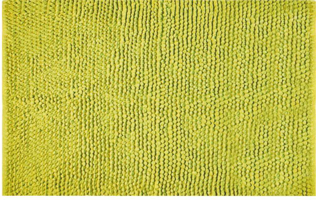 Коврик для ванной Iddis Green Blossom, цвет: зеленый, 70 х 120 см