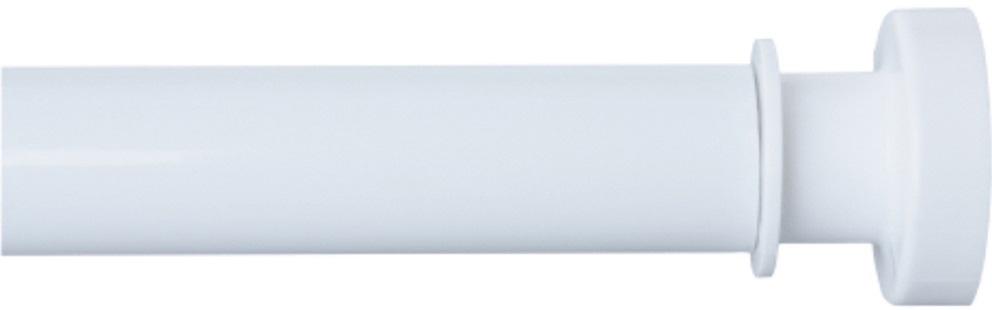 Карниз для ванной Iddis, телескопический, цвет: белый, длина 110-200 см010A200I14Карниз Iddis изготовлен из алюминия. Наконечники из АВS -пластика на концах карниза позволяют надежно фиксировать карниз на стене, предотвращая скольжение и повреждение стен в ванной. Благодаря телескопическому механизму карниз можно раздвигать на ширину от 110 до 200 см.Диаметр трубки: 28 мм.