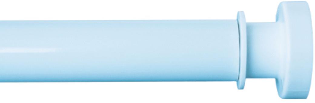 Карниз для ванной Iddis, телескопический, цвет: голубой, длина 110-200 см011A200I14Карниз Iddis изготовлен из алюминия. Наконечники из АВS -пластика на концах карниза позволяют надежно фиксировать карниз на стене, предотвращая скольжение и повреждение стен в ванной. Благодаря телескопическому механизму карниз можно раздвигать на ширину от 110 до 200 см.Диаметр трубки: 28 мм.