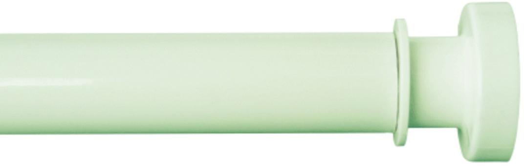 """Карниз """"Iddis"""" изготовлен из алюминия. Наконечники из АВS -пластика на концах карниза позволяют надежно фиксировать карниз на стене, предотвращая скольжение и повреждение стен в ванной. Благодаря телескопическому механизму карниз можно раздвигать на ширину от 110 до 200 см.Диаметр трубки: 28 мм."""