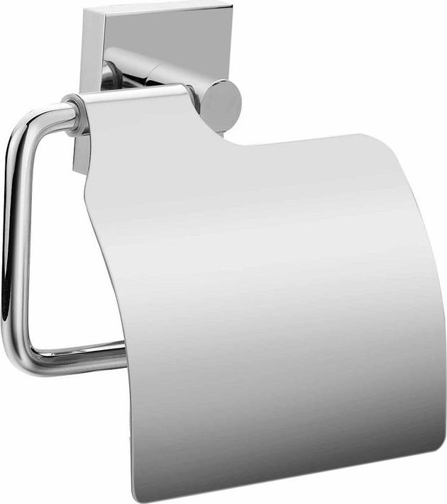"""Стильный держатель туалетной бумаги Milardo """"Amur"""" выполнен из прочного сплава металлов и имеет стойкое никель-хромовое покрытие. Крепеж в комплекте."""