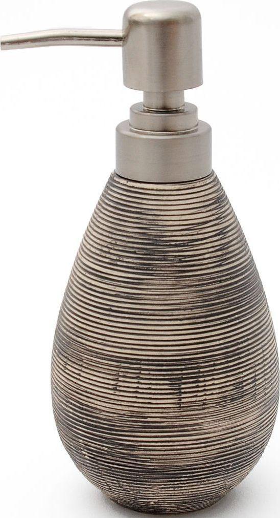 Дозатор для жидкого мыла Verran Brushy. 870-02870-02Рельефная поверхность, испещренная линиями и бороздками, в сочетании с цветом делают этот дозатор для жидкого мыла эффектным и ультрасовременным. Аксессуар великолепно дополняет сдержанные интерьеры ванных комнат, вдохновленные скандинавским стилем в дизайне.