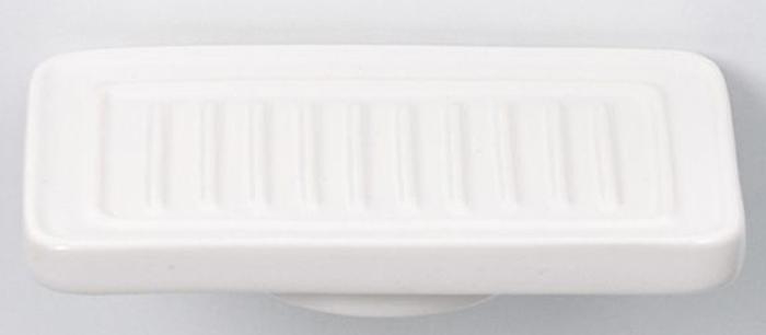 Мыльница Sofita Forsa, цвет: молочный, стальной, 14,5 x 9 x 2,5 см37008Стильная керамическая мыльница Sofita Forsa дополнена подставкой из прочной латуни. Верх изделия дополнен ребристыми полосками.Для чистки разрешено использовать мягкую ткань. Не применять абразивные средства.