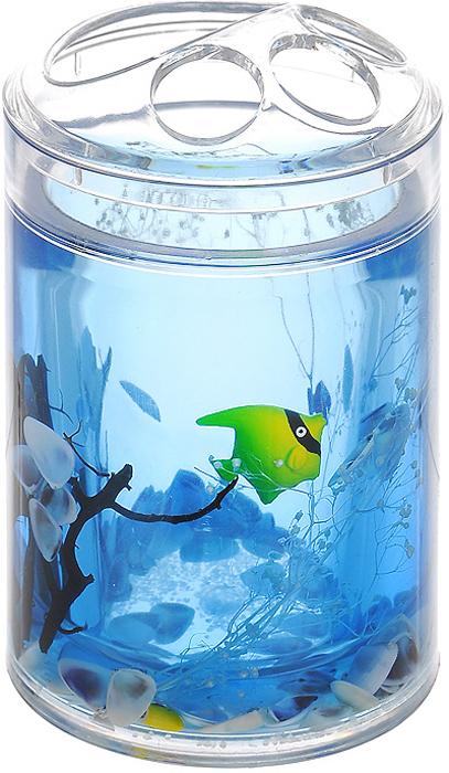 Стакан для зубных щеток Морские рыбки