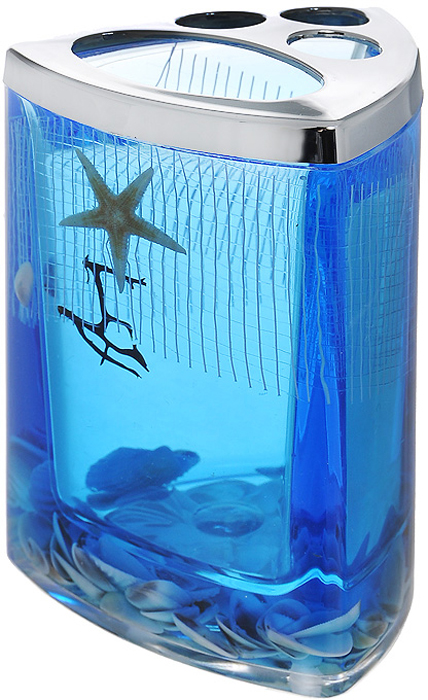 Стаканчик для зубных щеток Seastar Blue