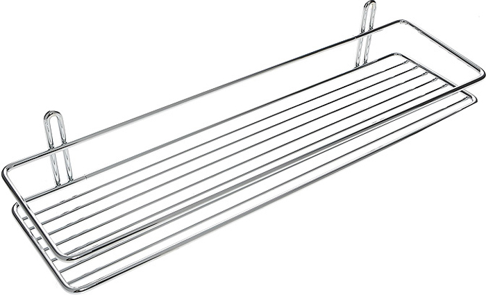 """Удобная и практичная прямая полка """"Classic"""" выполнена из хромированной стали. Она крепится при помощи двух шурупов с дюбелями (входят в комплект). Полка впишется в интерьер ванной комнаты и позволит вам удобно и практично хранить предметы домашнего обихода. Характеристики:  Материал: сталь. Цвет: хромированный. Размер: 40 см х 11 см х 7 см. Артикул: 561-90."""