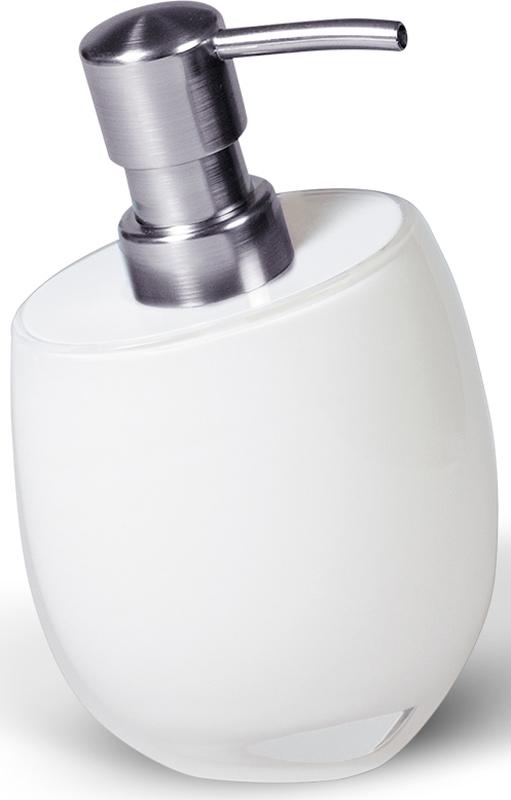Дозатор для жидкого мыла Immanuel Repose White12226Дозатор для жидкого мыла Immanuel Repose White, изготовленный из акрила белого цвета, отлично подойдет для вашей ванной комнаты. Такой аксессуар очень удобен в использовании, достаточно лишь перелить жидкое мыло в дозатор, а когда необходимо использование мыла, легким нажатием выдавить нужное количество.Дозатор для жидкого мыла Immanuel Repose White создаст особую атмосферу уюта и максимального комфорта в ванной. Характеристики: Материал: пластик, акрил. Размер дозатора: 10 см х 10 см х 16 см. Артикул: 12226.