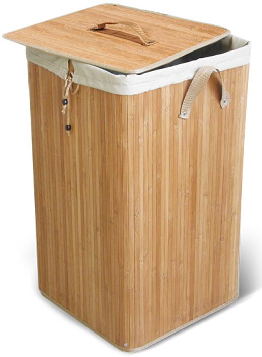 Корзина для белья Паллада с внутренним чехлом, 35 см х 35 см х 50 см корзина для белья eva складная цвет серый 43 х 50 х 63 см