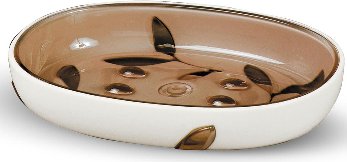 """Мыльница """"Immanuel Olive"""" - отличное решение для ванной комнаты. Такой аксессуар очень удобен в использовании. Мыльница """"Immanuel Olive"""" создаст особую атмосферу уюта и максимального комфорта в ванной. Характеристики: Материал:  акрил. Размер:  13 см х 9,5 см х 2 см. Размер упаковки:  13 см х 9,5 см х 2 см. Артикул:  12004."""