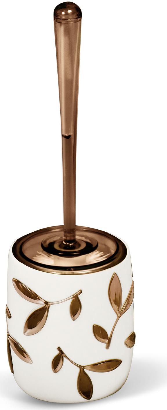 """Гарнитур для туалета Tatkraft """"Immanuel Olive""""- это необходимая вещь в каждом доме.  Чаша с устойчивым основанием не позволяет жидкости пролиться. Большая круглая моющая часть ершика, выполненная из прочных полимерных волокон, позволяет легко чистить поверхность. Характеристики: Материал:  акрил, пластик. Размер гарнитура:  32 см х 7 см х 7 см. Длина ручки:  22 см. Диаметр подставки:  10 см. Высота подставки:  12,5 см. Размер упаковки:  36 см х 10 см х 10 см."""