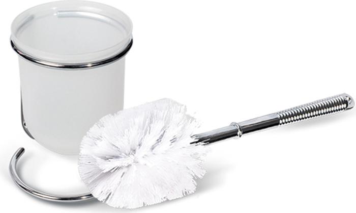 Гарнитур для туалета Tatkraft Lilia, с подставкой483349Гарнитур Tatkraft Lilia состоит из ершика для туалета, белого пластикового стаканчика и подставки из хромированной стали.Поставка с устойчивым основанием не позволяет опрокинуться стаканчику. Большая круглая моющая часть ершика, выполненная из прочных полимерных волокон, позволяет легко чистить поверхность. Гарнитур долговечен, удобен в использовании и гигиеничен. Гарнитур для туалета Tatkraft Diamond White- это необходимая вещь в каждом доме. Характеристики:Материал: хромированная сталь, пластик, полимеры. Длина ершика: 35 см. Размер стаканчика: 10 см х 10 см х 11,5 см. Размер подставки: 12 см х 10 см х 13 см. Размер упаковки: 11,5 см х 10,5 см х 17,5 см. Артикул: 11205.