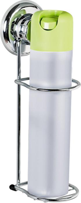 Держатель для освежителя воздуха Tatkraft Mega Lock, настенный, на вакуумной присоске11465Настенный держатель для освежителя воздуха Tatkraft Mega Lock с уникальной системой крепления на основе пружинно-затворного механизма позволяет избежать сверления стены и использования отвертки. Держатель изготовлен из хромированной стали. Перед креплением необходимо обезжирить поверхность, на которую будет устанавливаться вакуумная присоска, хорошо просушить данную поверхность.Настенный держатель для освежителя воздуха Tatkraft Mega Lock может быть использован только на ровной воздухонепроницаемой поверхности - плитке, стекле, металле, пластике, зеркале, оргстекле и т.п. Характеристики:Материал:хромированная сталь, пластик. Цвет:стальной. Диаметр вакуумной присоски:7,3 см. Размер держателя: 7 см х 10 см х 25 см. Диаметр отверстия для освежителя воздуха:6 см. Размер упаковки:33 см х 14,5 см х 10 см. Артикул: 11465.
