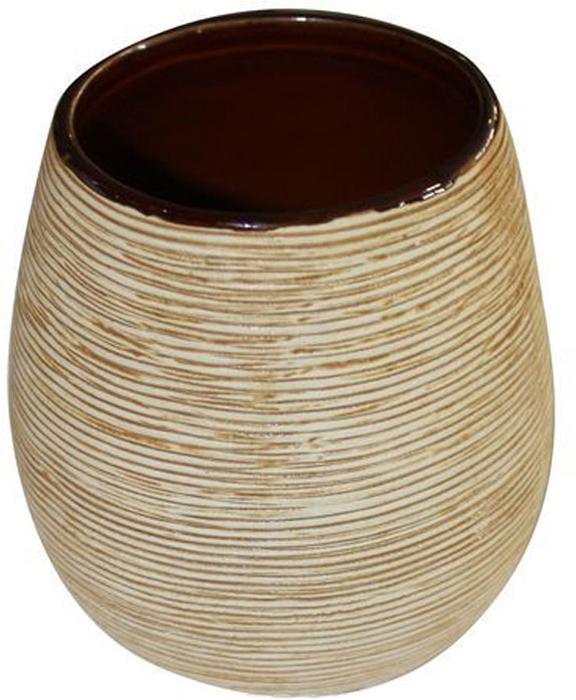 """Оригинальный стаканчик Duschy """"Bees Light"""" выполнен из керамики бежевого цвета, имеет рифленую поверхность. Стаканчик отличается легкостью и компактностью, при этом он устойчив. Такой стаканчик прекрасно подойдет для зубных щеток, пасты, расчесок и станет достойным дополнением интерьера ванной комнаты. Характеристики:  Материал: керамика. Цвет: бежевый. Размер стаканчика: 9,5 см х 8 см х 8 см. Размер упаковки: 10 см х 9 см х 9 см. Артикул: 351-01."""
