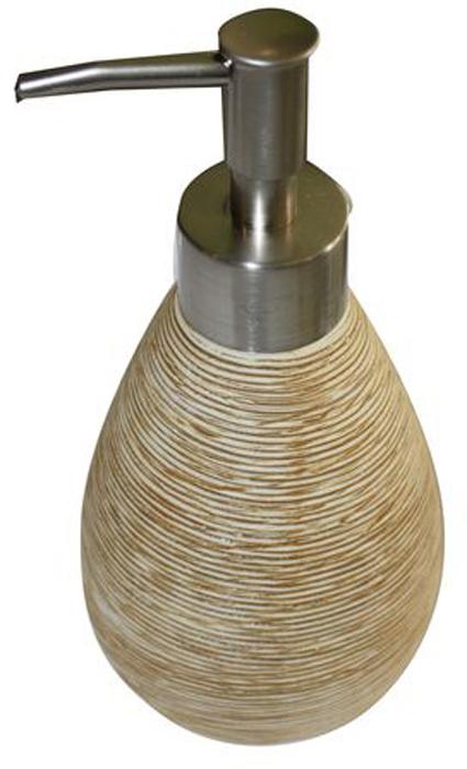 Дозатор для жидкого мыла Duschy Bees Light351-02Дозатор для жидкого мыла Duschy Bees Light выполнен из высококачественной керамики бежевого цвета с рельефной поверхностью. Дозатор отличается легкостью и компактностью, при этом он устойчив. Такой дозатор станет достойным дополнением интерьера ванной комнаты. Характеристики:Материал: керамика. Цвет: бежевый. Размер дозатора: 19 см х 8 см х 8 см. Размер упаковки: 19 см х 9 см х 9 см. Артикул: 351-03.
