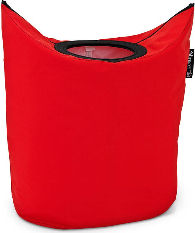 Сумка для белья Brabantia, овальная, цвет: красный, 50 л. 101144 brabantia мусорный бак flipbin 30 л белый
