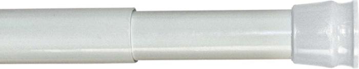 Карниз для ванной комнаты Milardo, цвет: белый, 110-200 см010A200M14