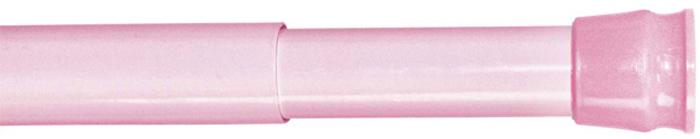 Карниз для ванной комнаты Milardo, цвет: розовый, 110-200 см013A200M14