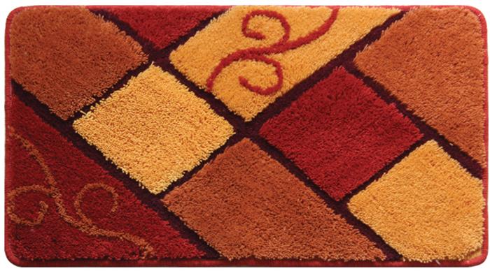 Коврик для ванной комнаты Milardo Plain Tiles, 40 х 70 см 460A470M12460A470M12Коврик для ванной комнаты Milardo Plain Tiles выполнен из 100% акрила - прочного, долговечного материала, который быстро сохнет. Мягкий и приятный на ощупь коврик имеет латексную основу, благодаря которой он не скользит по полу. Края коврика обработаны оверлоком. Можно использовать на полу с подогревом.Коврик можно стирать в стиральной машине в щадящем режиме при температуре не выше 40°C отдельно от остального белья.